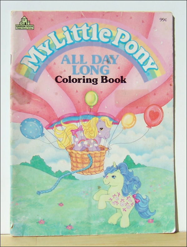 my little pony coloring book. Description: Coloring book.