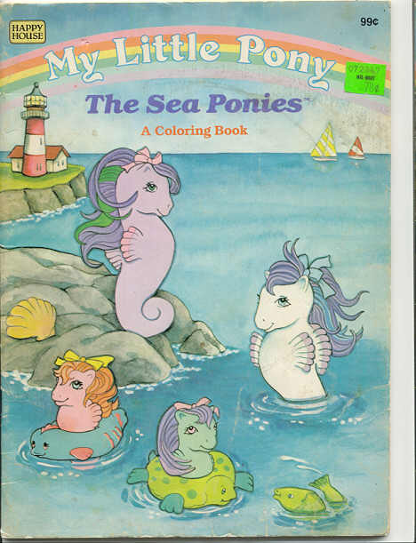 Coloring And Activity Books My Little Pony Ponyland Press